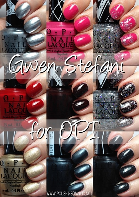 OPI Gwen Stefani Collection