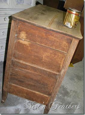 10 Oak dresser