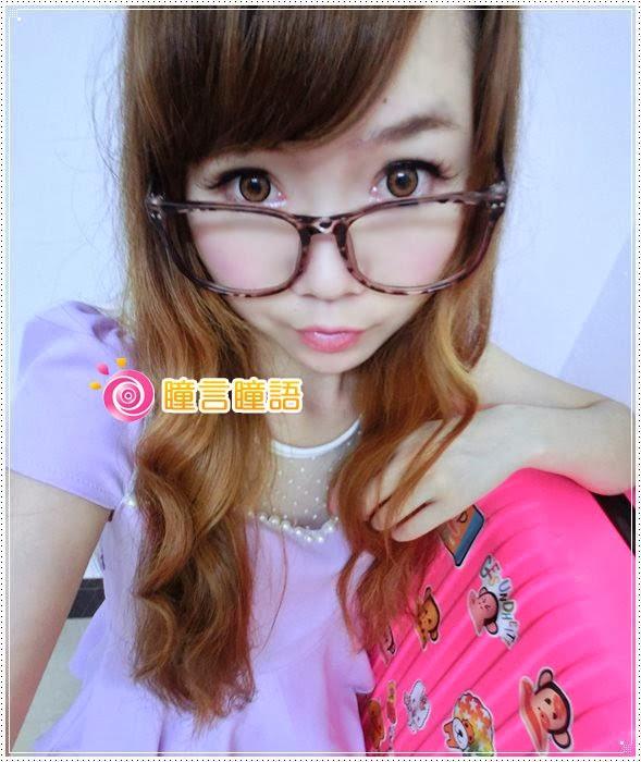 韓國GEO隱形眼鏡-冰漾甜心咖(廣瀨麻伊)13