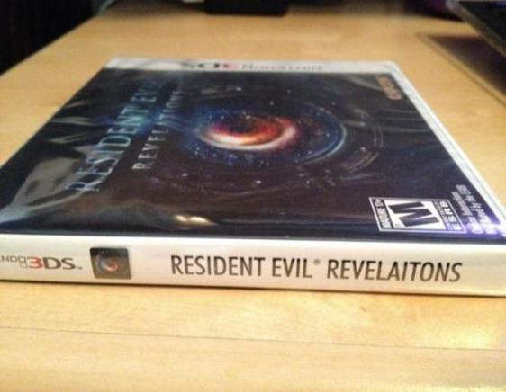 Resident Evil REVELAITONS