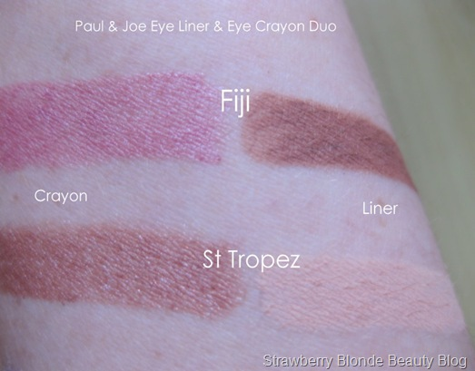 Paul-and-Joe-Eye-Liner-and-Crayon-Duo-St-Tropez-Fiji-swatches-photos-pics