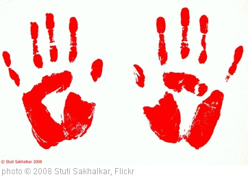 'handprints :) :)' photo (c) 2008, Stuti Sakhalkar - license: http://creativecommons.org/licenses/by/2.0/