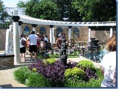 8207 Graceland, Memphis, Tennessee - Meditation Garden