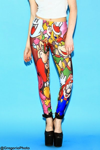 Super Mario Bros Leggings from Living Dead