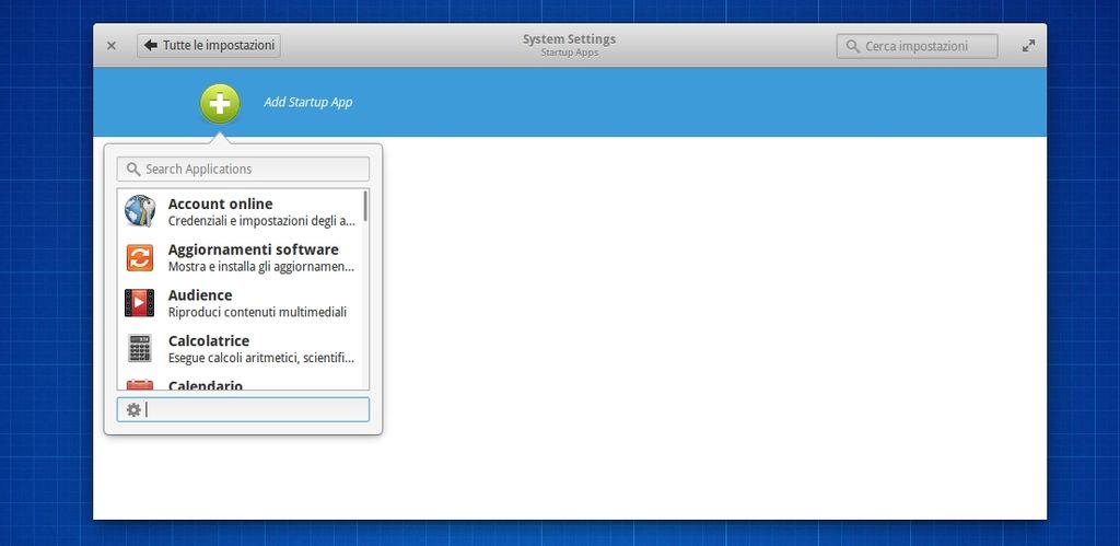 Startup Apps in elementary OS 0.3 Isis