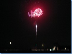 6637 Texas, South Padre Island - KOA Kampground - South Padre Island's New Years fireworks from our RV