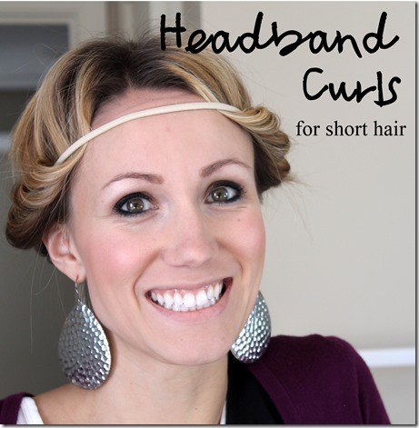 Headband curl how to