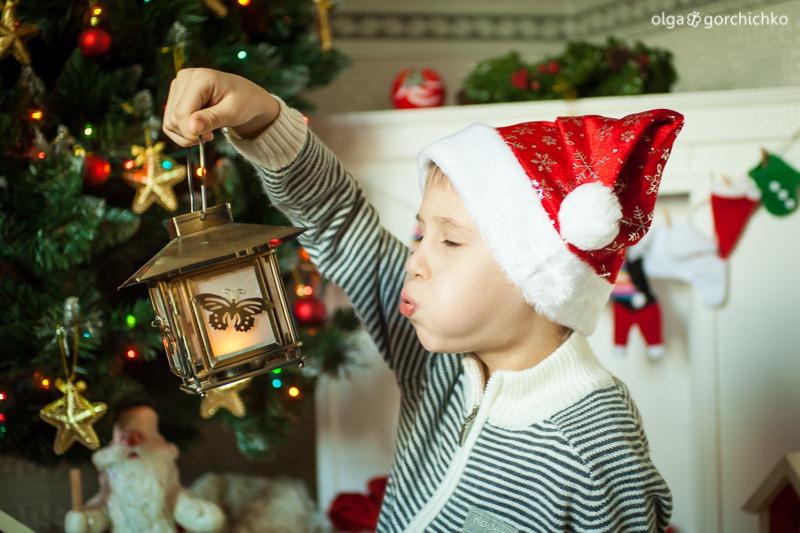 Детский новогодний фотопроект Рождественские мечты. 31. Настя и Никита-7