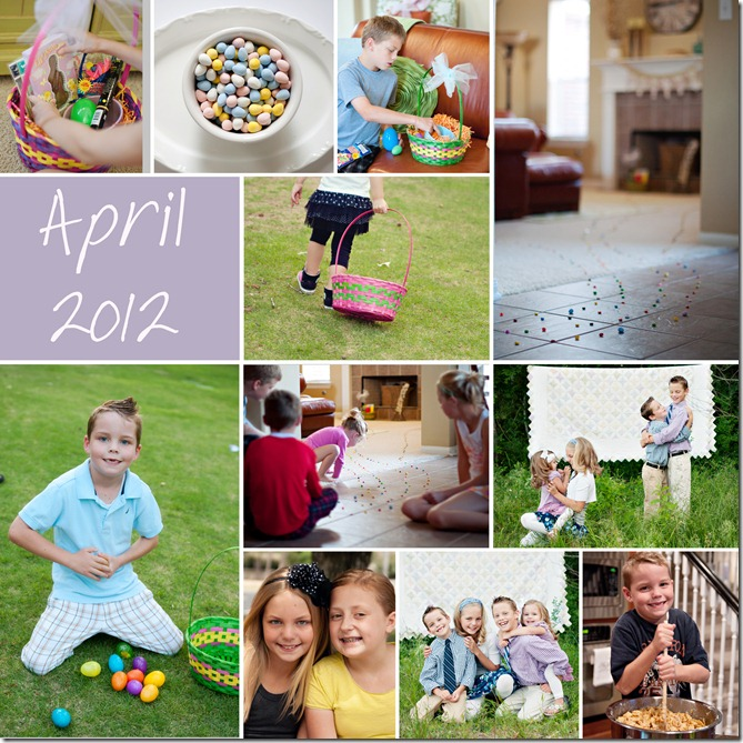 April Collage - 2012