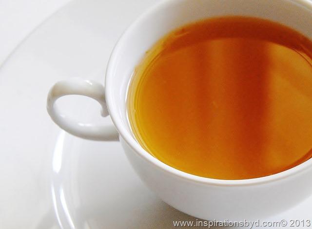 natural homemade tea