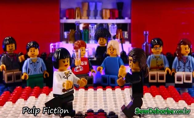 FILMES RECRIADOS EM LEGO: PULP FICTION!