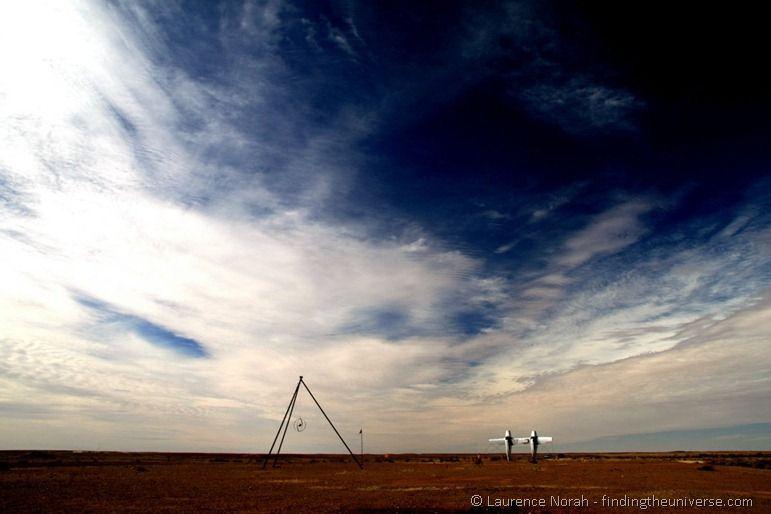 Planehenge, SA outback