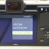 Nikon 1 V1 ホワイトのFボタン