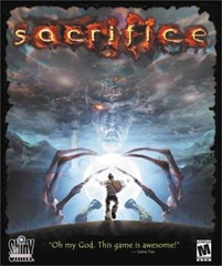 Box art for Sacrifice PC game