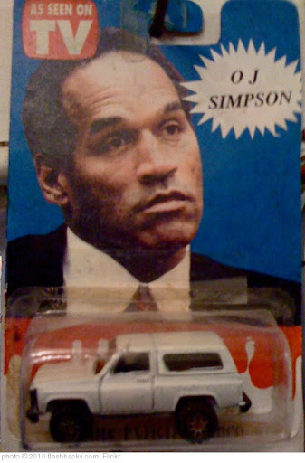 &#39;O.J. Simpson White Bronco Toy - 1994&#39; photo (c) 2010, flashbacks.com - license: http://creativecommons.org/licenses/by/2.0/