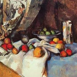 Paul Cezanne (1895-98): Naturaleza muerta con manzanas. Museo de Arte Moderno. New York. Postimpresionismo