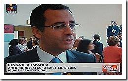Seguro exige condições iguais para Portugal.Jun2012