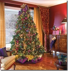 Christmas Tree -purple -HDTrends