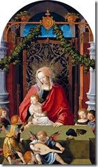 Lucas_van_Leyden_-_Virgin_and_Child_with_Angels_-_Gemäldegalerie