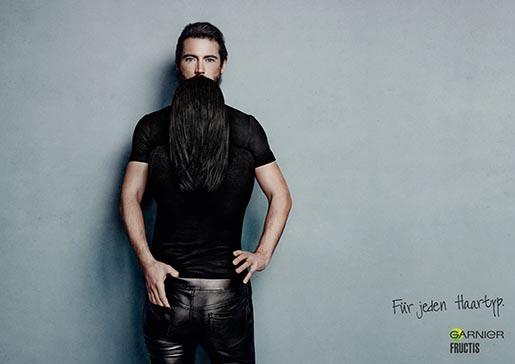 Garnier black beard