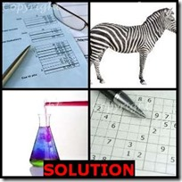 SOLUTION- 4 Pics 1 Word Answers 3 Letters