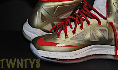 nike lebron 10 id production poor man championship gold 1 06 Poor Mans Championship Gold Nike LeBron X iD by TWNTY8