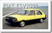 FIAT ESV 2000 CONCEPT CAR