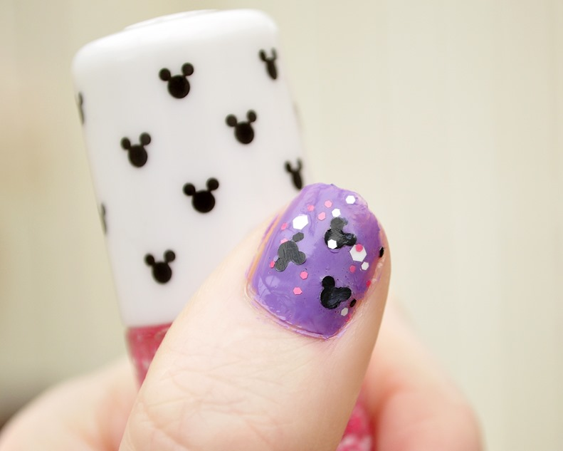 minnie mouse nail polish etude house review swatches 2