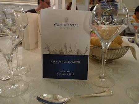 Cel mai bun bucatar Hotel Continental