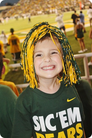 Nash's 1st day of School & Baylor Game 085