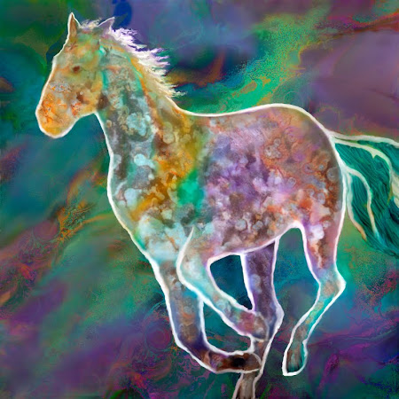"The ""Painted Pony"" piece from the ""2000"" collection"