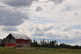 """U.P. Sky With Barn & Horses"" - David Thompson"