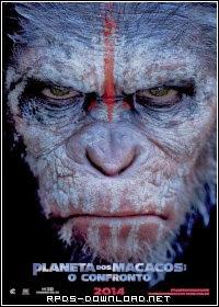 543ad4f144f4a Planeta dos Macacos 2: O Confronto Dublado RMVB + AVI Dual Áudio R6