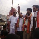 Campaigning in Ramanna Grama