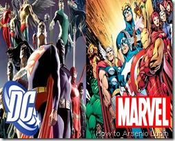Grandes Sagas de Marvel y DC por Arsenio