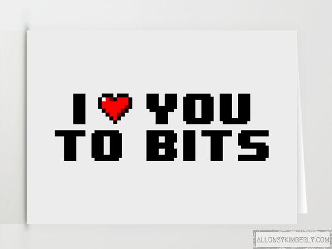Free Gamer Valentine's Day Card Printables | allonsykimberly.com