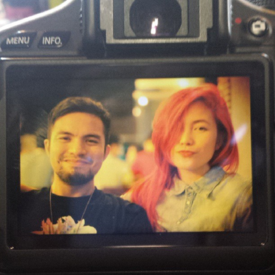 Yeng Constantino with boyfriend Victor Asuncion