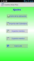 Screenshot of CountDown Plus