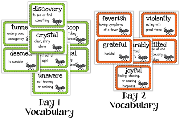 You Could Win My Updated Two Bad Ants Unit! - Creekside Teacher Tales
