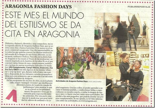 HERALDO - ARAGONIA FASHION DAYS