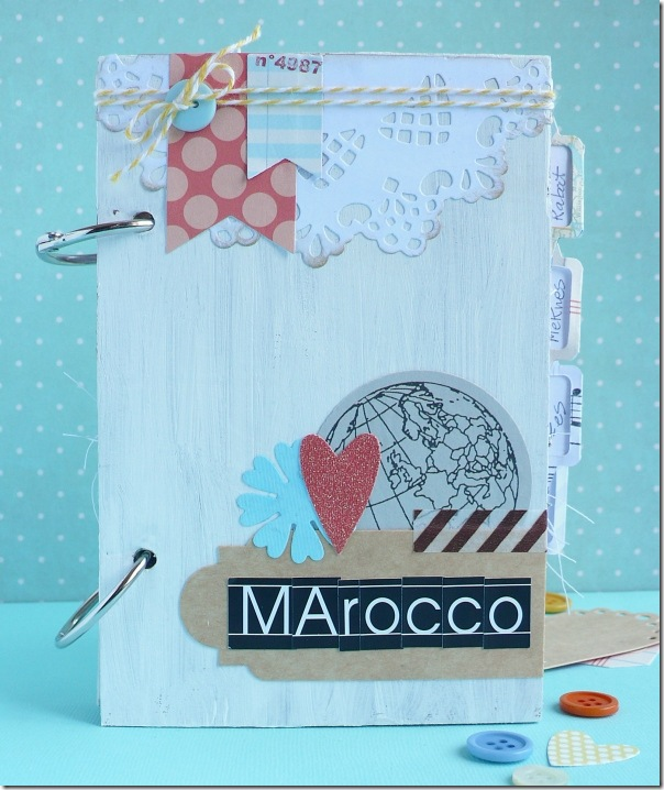 cafe creativo - Anna Drai - big shot sizzix - mini album - travel journal (1)