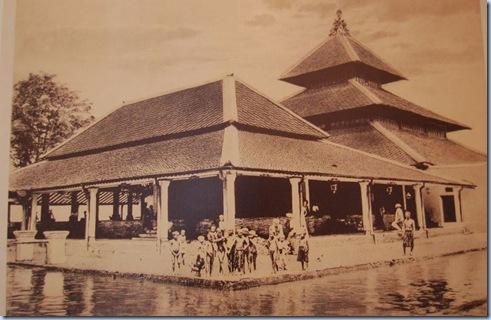 Masjid Agung Yogyakarta tahun 1900
