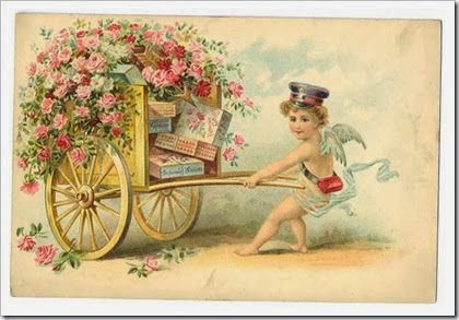 vintage-victorian-valentine-card-cherub-messenger-pulling-cart-with-roses