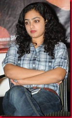 Nithya Menon Latest Stills @ Sega Movie Audio Release