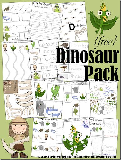 FREE Dinosaur Printables