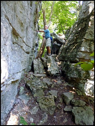 11b - Climbing out of the Stones