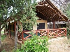 Safari Tent - Sitting Area