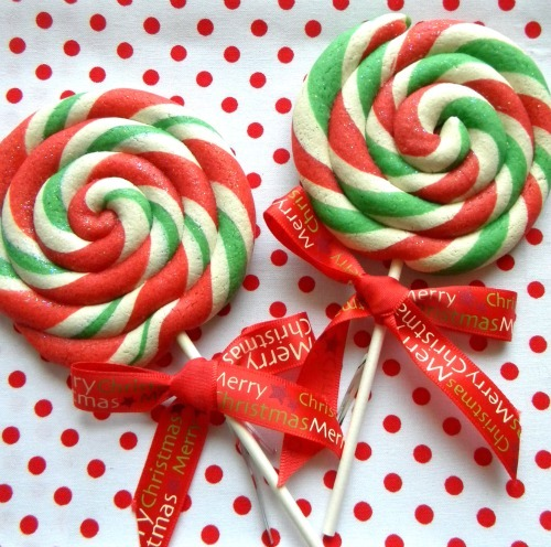 Christmas Lollipop Cookies at Occasional Cookies