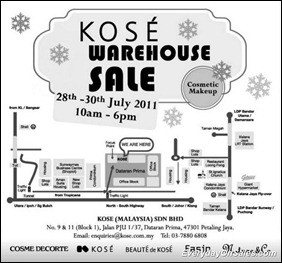 Kose-Warehouse-sales-2011-EverydayOnSales-Warehouse-Sale-Promotion-Deal-Discount