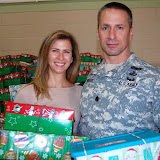 WBFJ - Operation Christmas Child - Collection Week - Pinedale Christian Church - Winston-Salem - 11-
